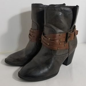 MIA Heeled Ankle Booties sz 7.5